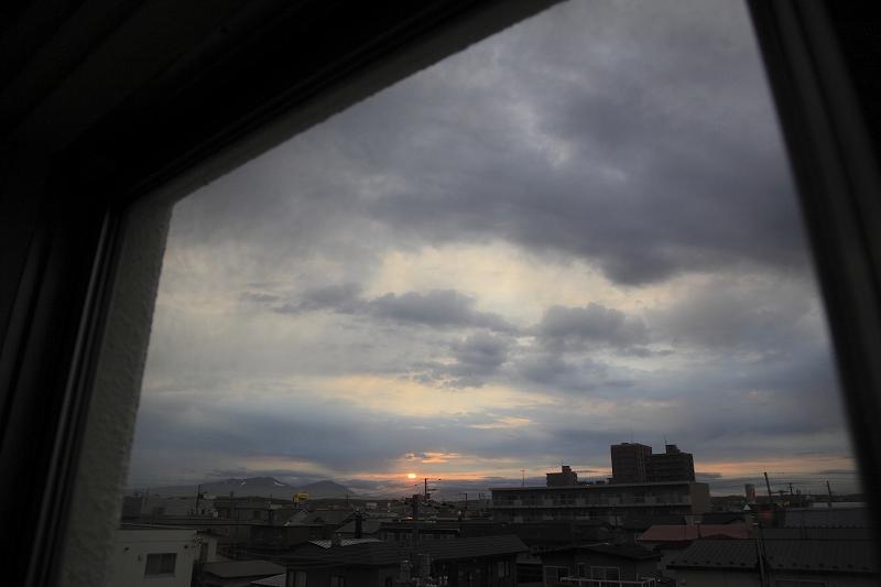 リフォームして樽前山がいつも見れるようになった_a0160581_19311996.jpg