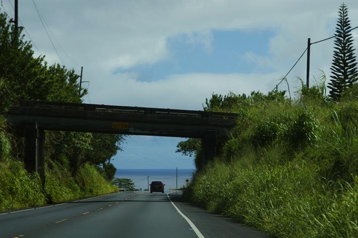 ハワイ島旅行記2010 ー4日目・ハワイ島ほぼ1周ドライブ後半(その2:アカカと虹とホノムの町)- _f0189086_19335379.jpg