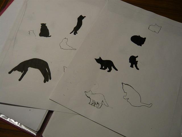 シルエットcatデザイン考_c0165589_9501180.jpg