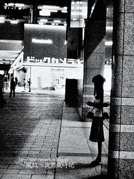 Stop women in the city at night._f0235723_19411653.jpg