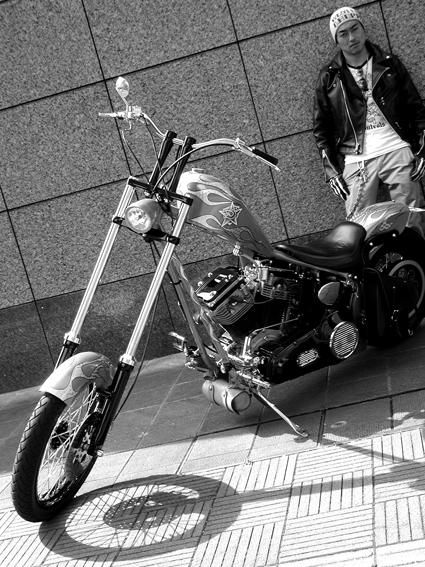 江口 涼 & Herley-Davidson FXST(2010 0508)_f0203027_8394764.jpg