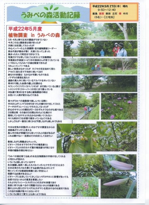 うみべの森を育てる会5月度植物調査_c0108460_21445941.jpg