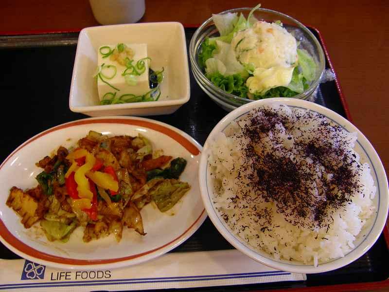 めしや食堂    赤川店_c0118393_20215167.jpg