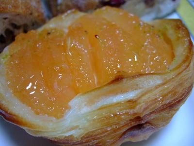 グレープフルーツのデニッシュ