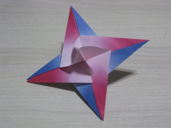すべての折り紙 星の作り方 折り紙 : きら 星 4 枚 組 きら 星 8 枚 組