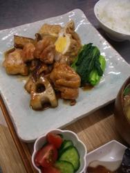 5/28晩ごはん:鶏モモ肉の照焼き_a0116684_0353195.jpg