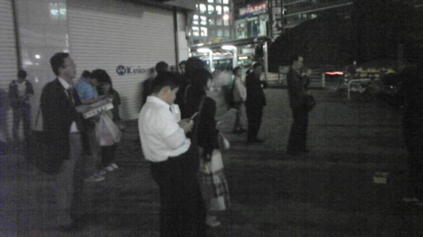 mimosa''路上ライブin新宿(京王デパート前)_a0112393_1230943.jpg