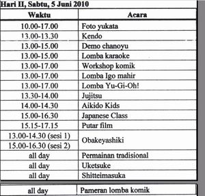 インドネシア大学日本語学科の日本祭り・Gelar Jepang 2010_a0054926_0435659.jpg