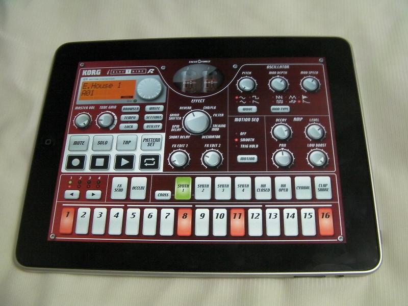 "Apple""iPad"" & KORG""iELECTRIBE""_e0052576_2217952.jpg"