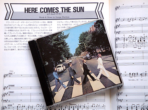 『HERE COMES THE SUN』_c0137404_22201038.jpg
