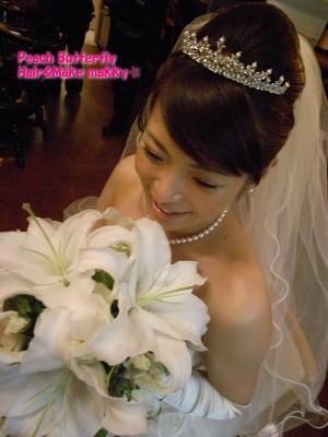 山の上ホテルの花嫁 _c0043737_1717793.jpg