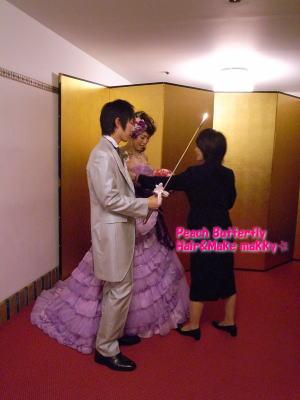 山の上ホテルの花嫁 _c0043737_17382458.jpg