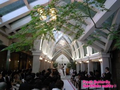 山の上ホテルの花嫁 _c0043737_1742440.jpg