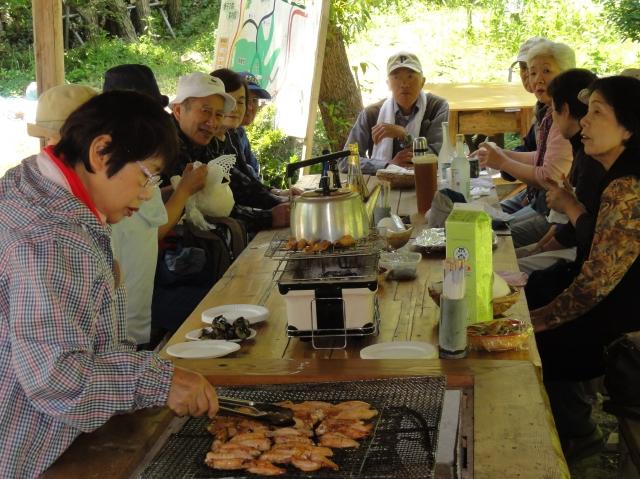 第2回「中孝子地区住民とみさき里山クラブの交流会」_c0108460_0534221.jpg