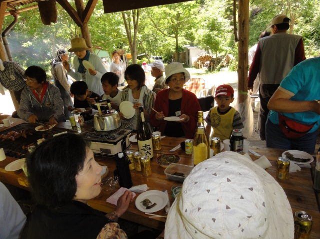 第2回「中孝子地区住民とみさき里山クラブの交流会」_c0108460_0562755.jpg