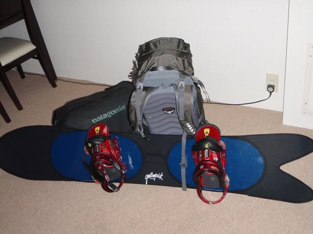 今シーズン最後のBCスノーボード・・・・・準備完了!_c0147398_23223286.jpg