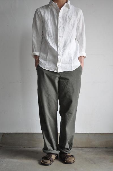 LOLO/ロロ リネン スマートシャツ