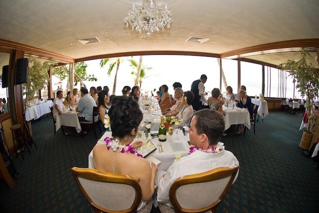 ハワイ旅行記 4日目 レセプション_b0121501_1534100.jpg
