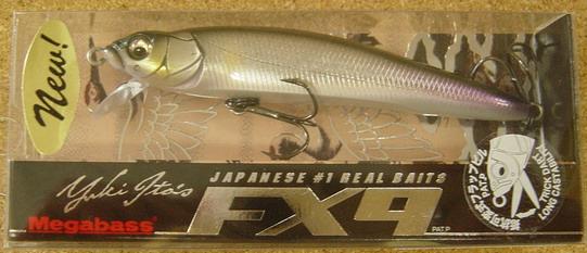 メガバス FX-9  NEW 入荷_a0153216_15111258.jpg