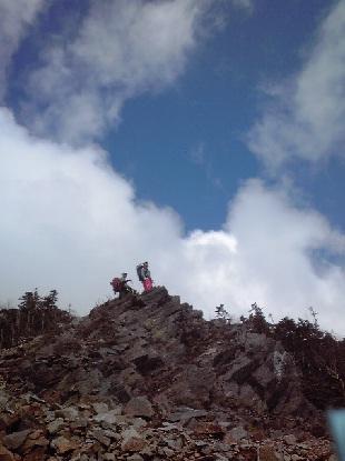 甲武信岳登山_e0077899_7592991.jpg