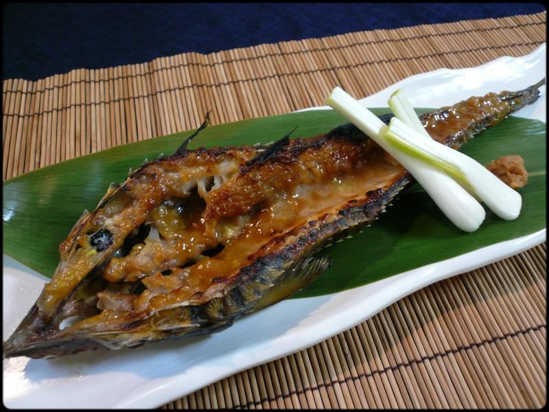 ハッカクの軍艦焼き  魚と野菜と私と和ノ香