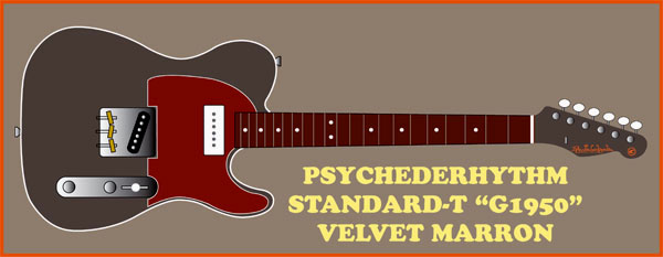 "「Psychederhythm Standard Series \""G1950\""」発表!_e0053731_19465891.jpg"