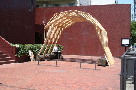 東京大学大学院木質材料学研究室展開催中です。_f0171840_134392.jpg