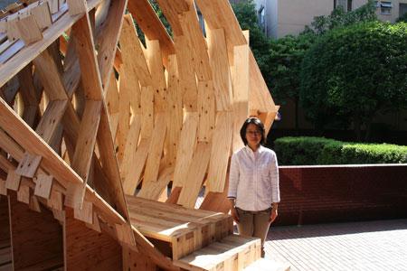 東京大学大学院木質材料学研究室展開催中です。_f0171840_13441835.jpg