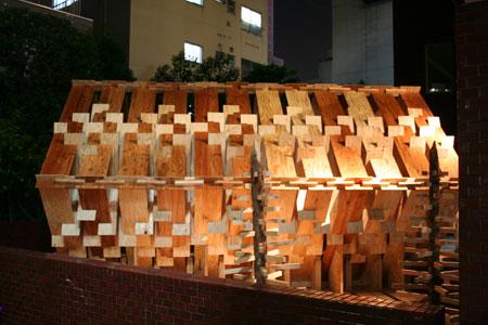 五月祭パビリオンの建て方風景(前編)_f0171840_9365082.jpg