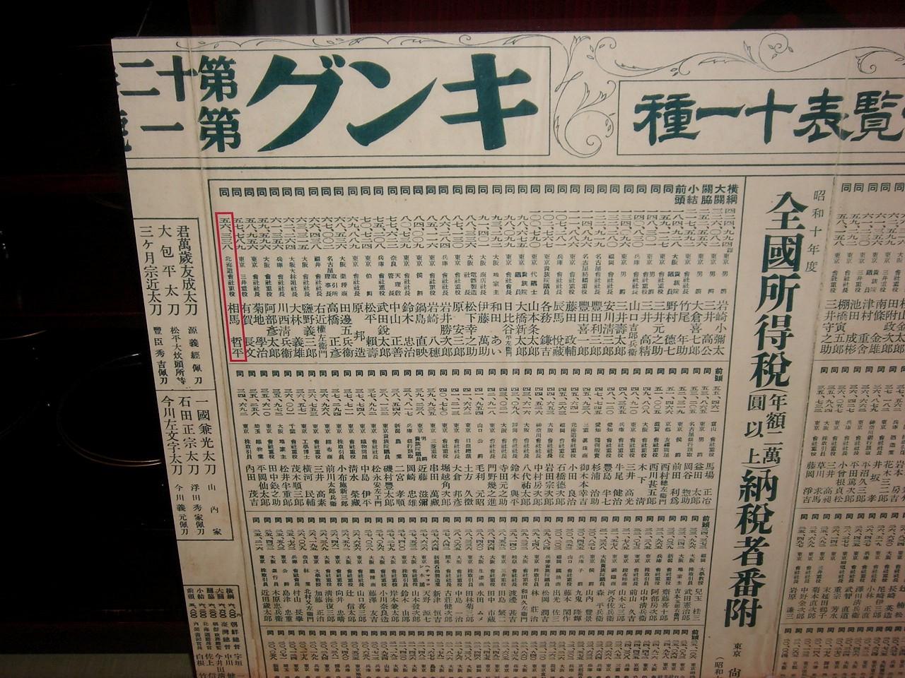 昭和10年の所得番付_a0158797_23135772.jpg