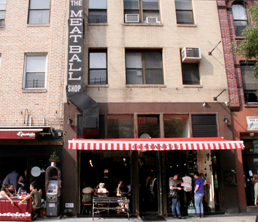 NY No1のミートボール・レストラン-THE MEATBALL SHOP_b0007805_2184155.jpg