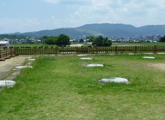 平城京 遺跡と衛士 遷都1300年祭_e0048413_1801912.jpg