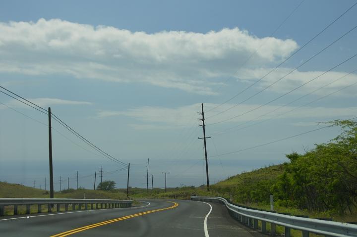 ハワイ島旅行記2010 ー4日目・ハワイ島ほぼ1周ドライブ後半(ラスト:虹・サンセット)- _f0189086_20463818.jpg
