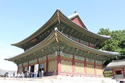 韓国旅行:世界遺産「昌徳宮」_b0189489_2053218.jpg