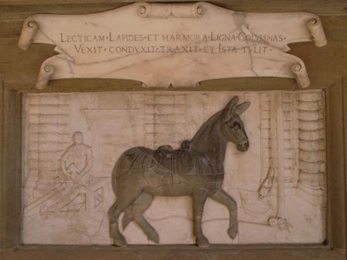 縁の下の力持ちだったロバ~ピッティ宮殿にて_f0106597_19323378.jpg