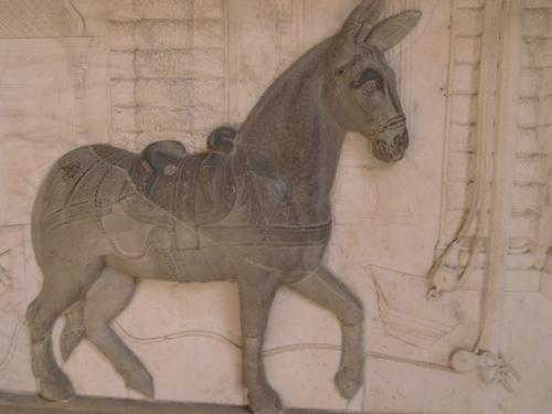 縁の下の力持ちだったロバ~ピッティ宮殿にて_f0106597_19424899.jpg