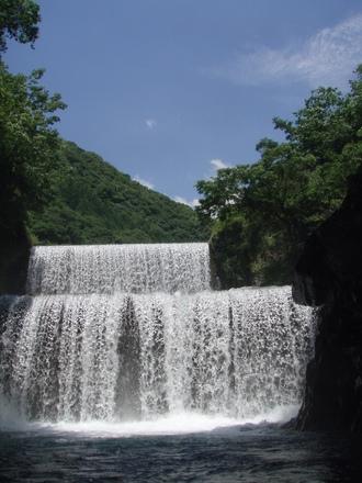 万江川 二段滝下区間_f0230770_2253221.jpg
