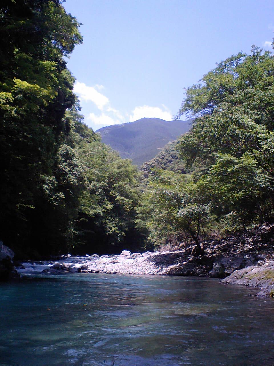 万江川 二段滝下区間_f0230770_2374051.jpg