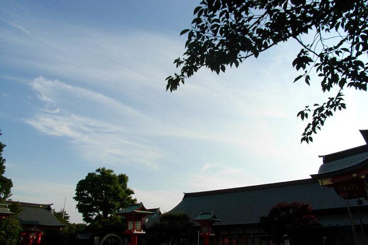 入間 ~ 秋川 ~ 東伏見稲荷神社 (6/6) 日枝神社 (6/4)_b0006870_0034.jpg