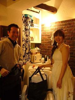 クロで結婚式の2次会_a0123703_10563397.jpg