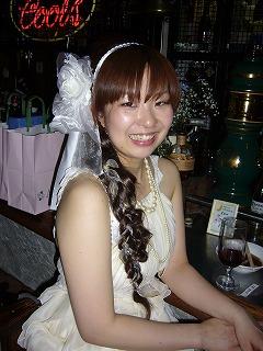 クロで結婚式の2次会_a0123703_1121499.jpg