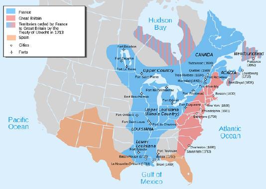フレンチ・インディアン戦争 : ...