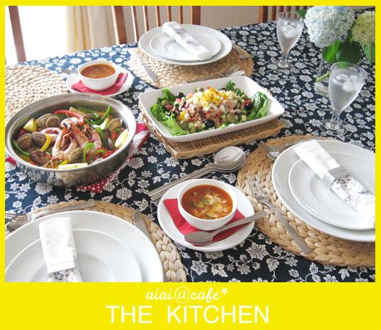 パエリアで♪6月のお料理教室スタート!_a0056451_16191793.jpg