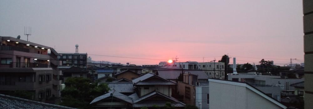 """★""""美しい夕日""""子どもの感性を育む★_d0082356_10531186.jpg"""