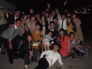 深夜まで二次会!!おめでとう~~_f0043559_8462699.jpg