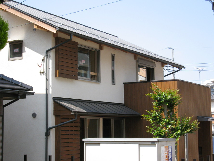 松戸の家 だいぶできました。_a0093864_1354546.jpg