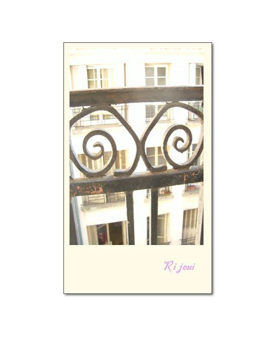 パリのアパートメント♪_b0144069_18503845.jpg