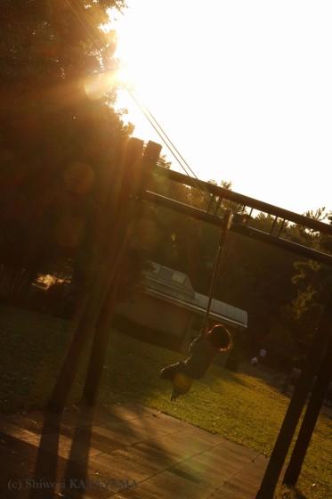 外でのびのび☆いつもの公園でパシャ!_d0170980_23142953.jpg