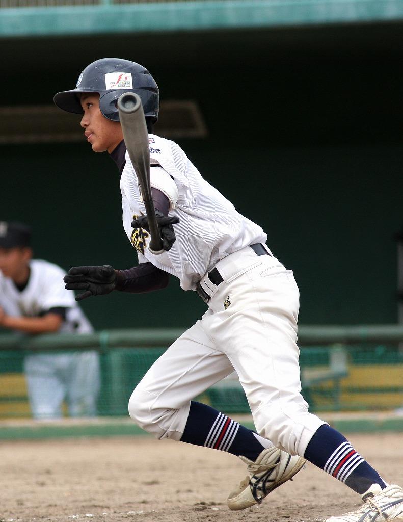 練習試合 姫路ボーイズクラブ戦_a0170082_1724138.jpg