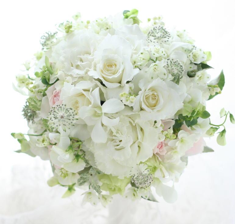 ブーケ 純白のドレスに 東郷記念館さまへ_a0042928_231275.jpg